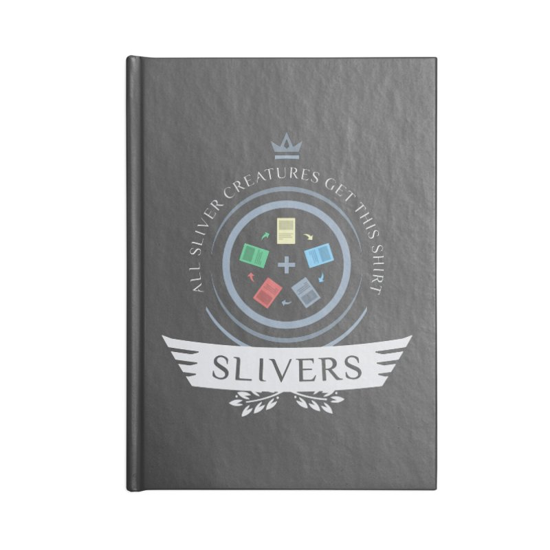 Slivers Life Accessories Notebook by Epic Upgrades