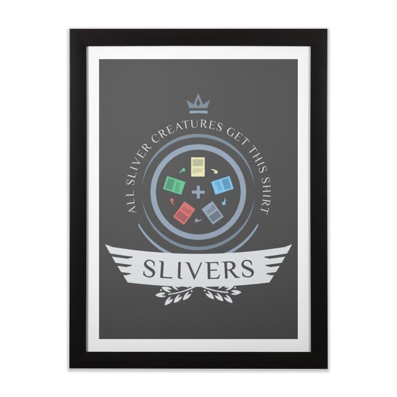 Slivers Life Home Framed Fine Art Print by Epic Upgrades
