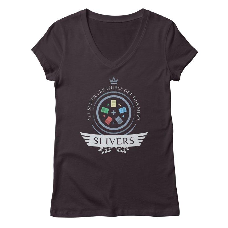 Slivers Life Women's V-Neck by Epic Upgrades