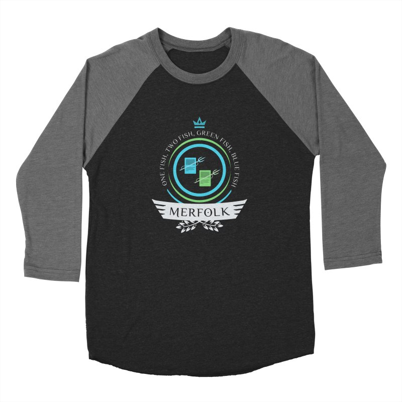 UG Merfolk Life Men's Baseball Triblend T-Shirt by Epic Upgrades