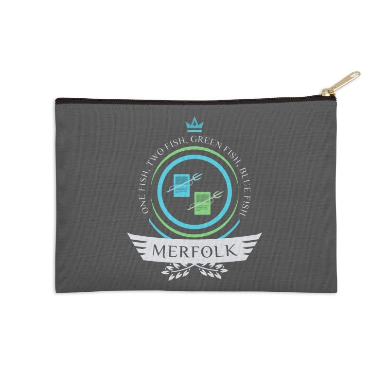 UG Merfolk Life Accessories Zip Pouch by Epic Upgrades