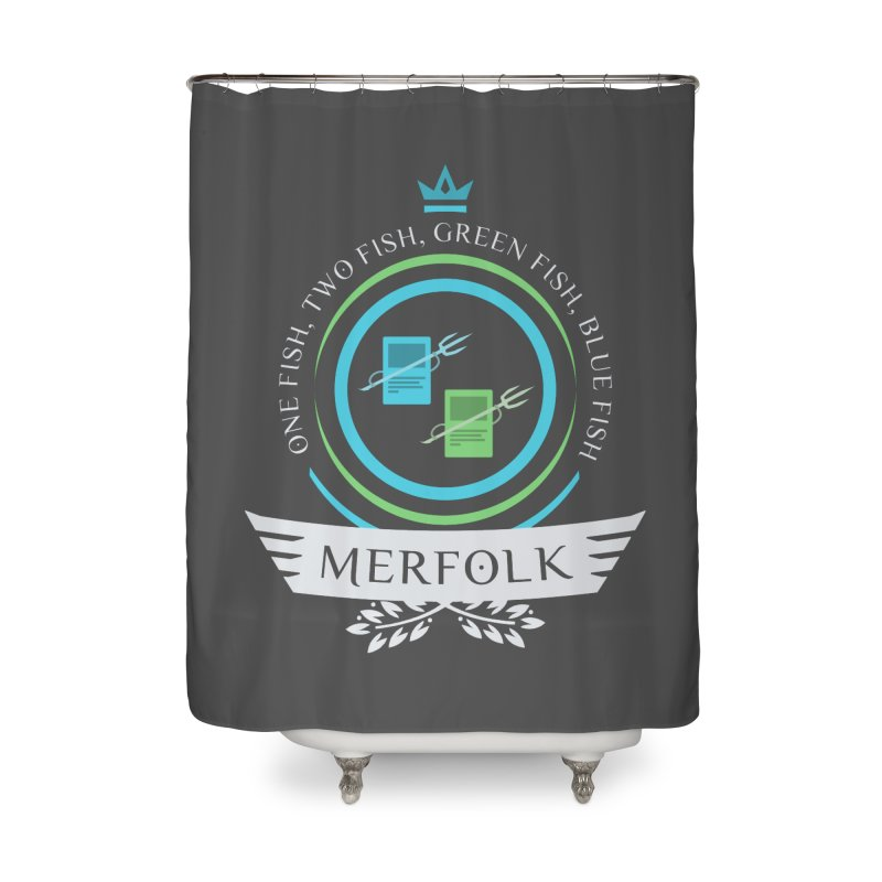 UG Merfolk Life Home Shower Curtain by Epic Upgrades