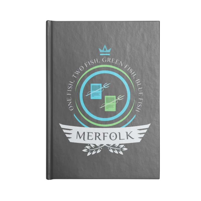 UG Merfolk Life Accessories Notebook by Epic Upgrades