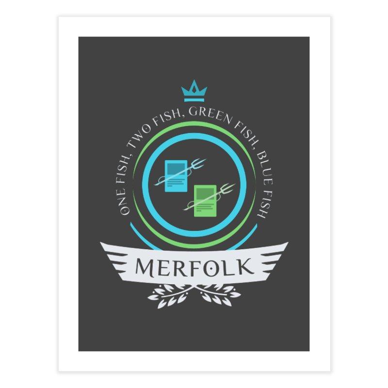 UG Merfolk Life Home Fine Art Print by Epic Upgrades