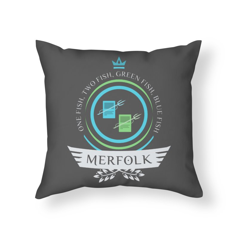 UG Merfolk Life Home Throw Pillow by Epic Upgrades