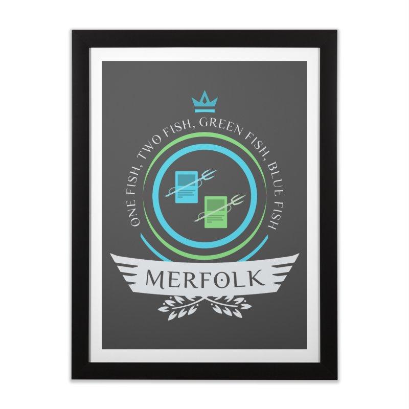 UG Merfolk Life Home Framed Fine Art Print by Epic Upgrades