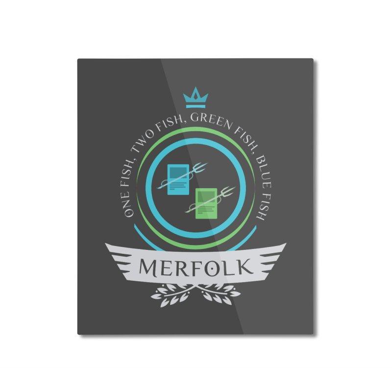 UG Merfolk Life Home Mounted Aluminum Print by Epic Upgrades