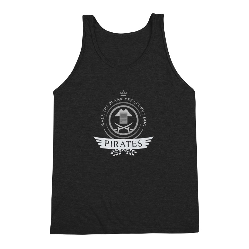 Pirates Life Men's Triblend Tank by Epic Upgrades