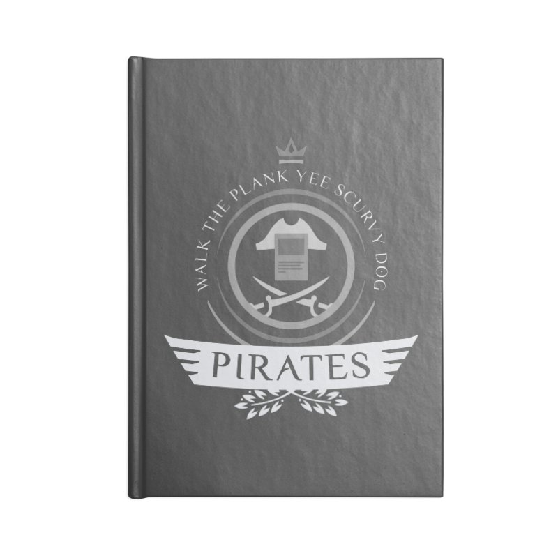 Pirates Life Accessories Blank Journal Notebook by Epic Upgrades