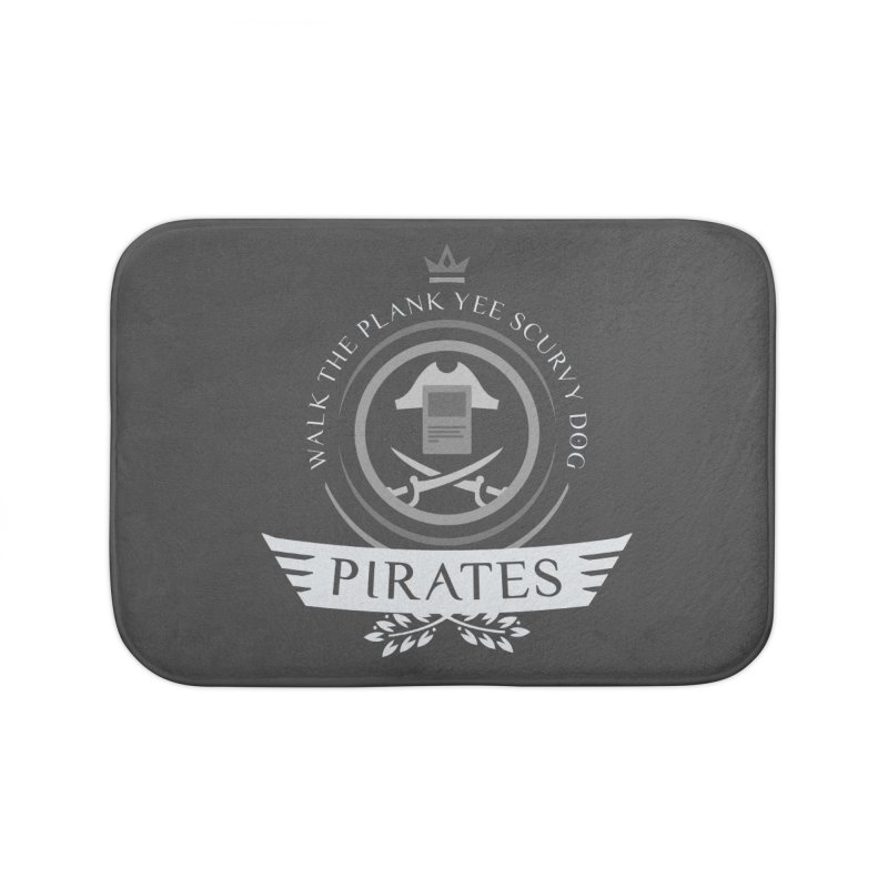 Pirates Life Home Bath Mat by Epic Upgrades