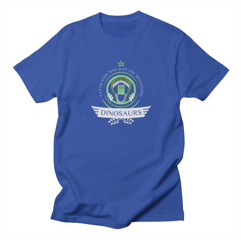 Dinosaurs Life Men's T-Shirt by Epic Upgrades
