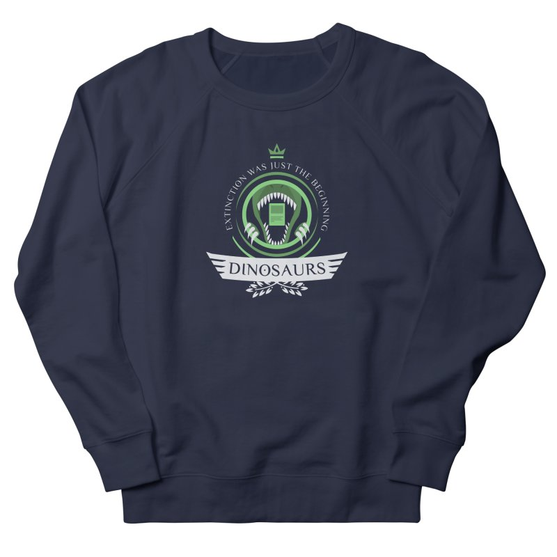 Dinosaurs Life Men's Sweatshirt by Epic Upgrades