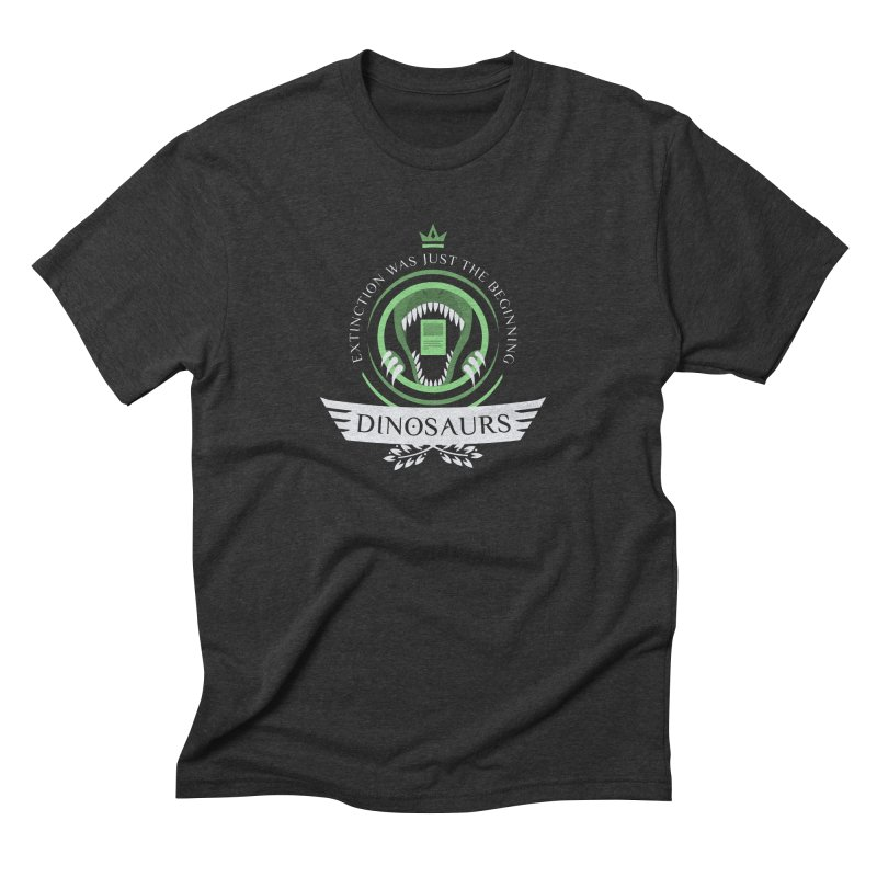 Dinosaurs Life Men's Triblend T-Shirt by Epic Upgrades