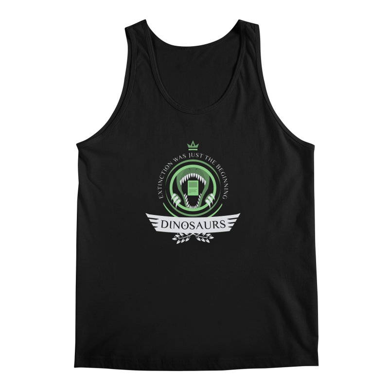 Dinosaurs Life Men's Tank by Epic Upgrades