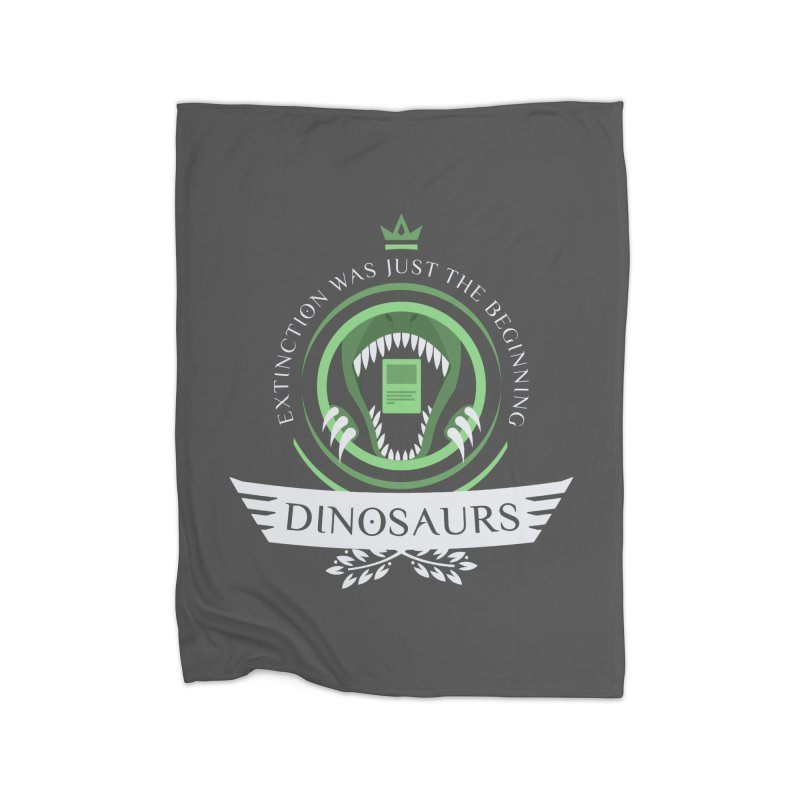 Dinosaurs Life Home Blanket by Epic Upgrades