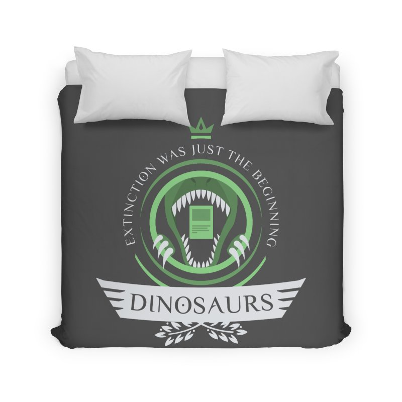 Dinosaurs Life Home Duvet by Epic Upgrades