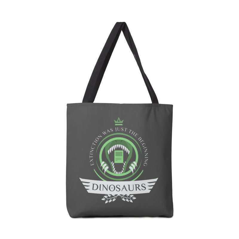 Dinosaurs Life Accessories Tote Bag Bag by Epic Upgrades