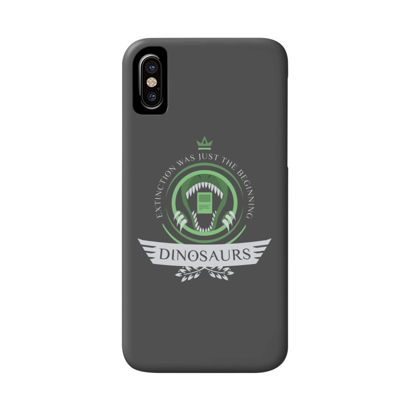 Dinosaurs Life Accessories Phone Case by Epic Upgrades