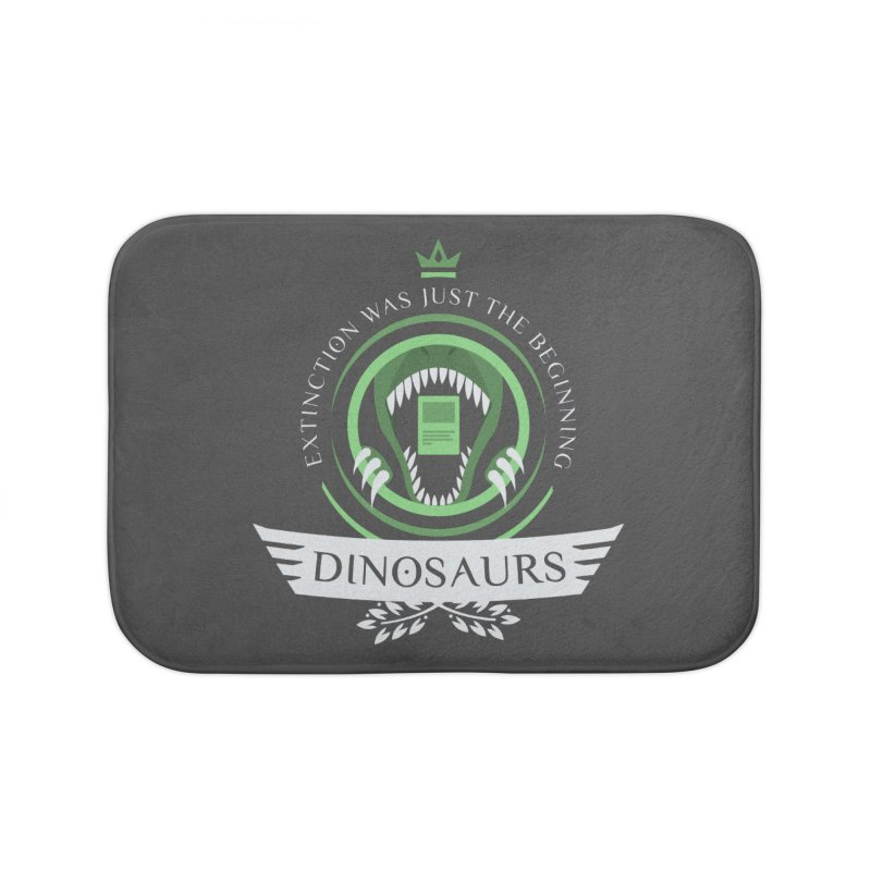 Dinosaurs Life Home Bath Mat by Epic Upgrades