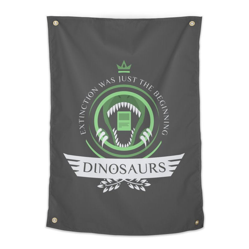 Dinosaurs Life Home Tapestry by Epic Upgrades