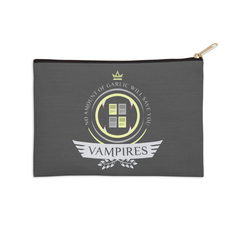 Vampires Life Accessories Zip Pouch by Epic Upgrades