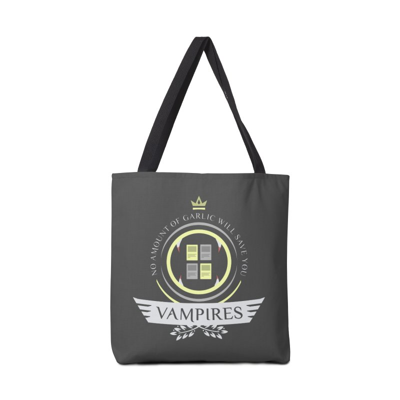 Vampires Life Accessories Tote Bag Bag by Epic Upgrades