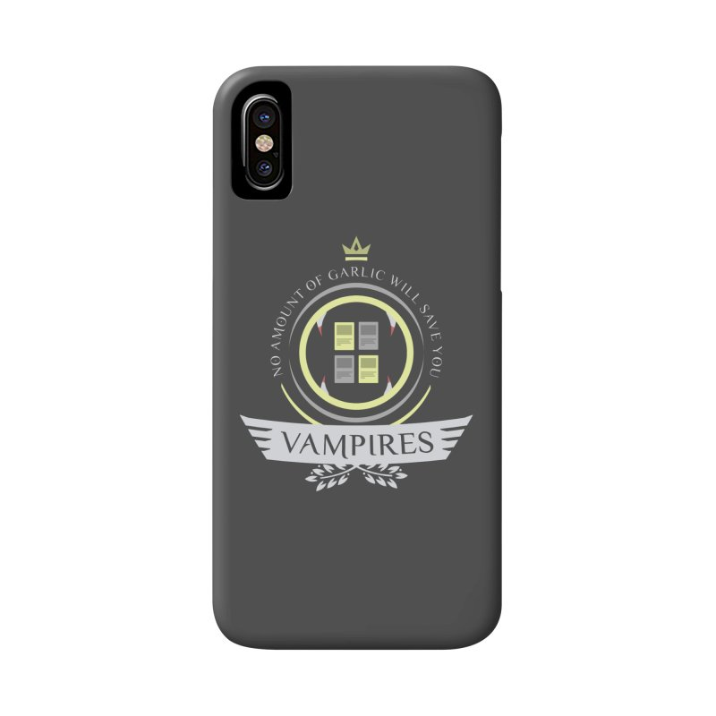 Vampires Life Accessories Phone Case by Epic Upgrades
