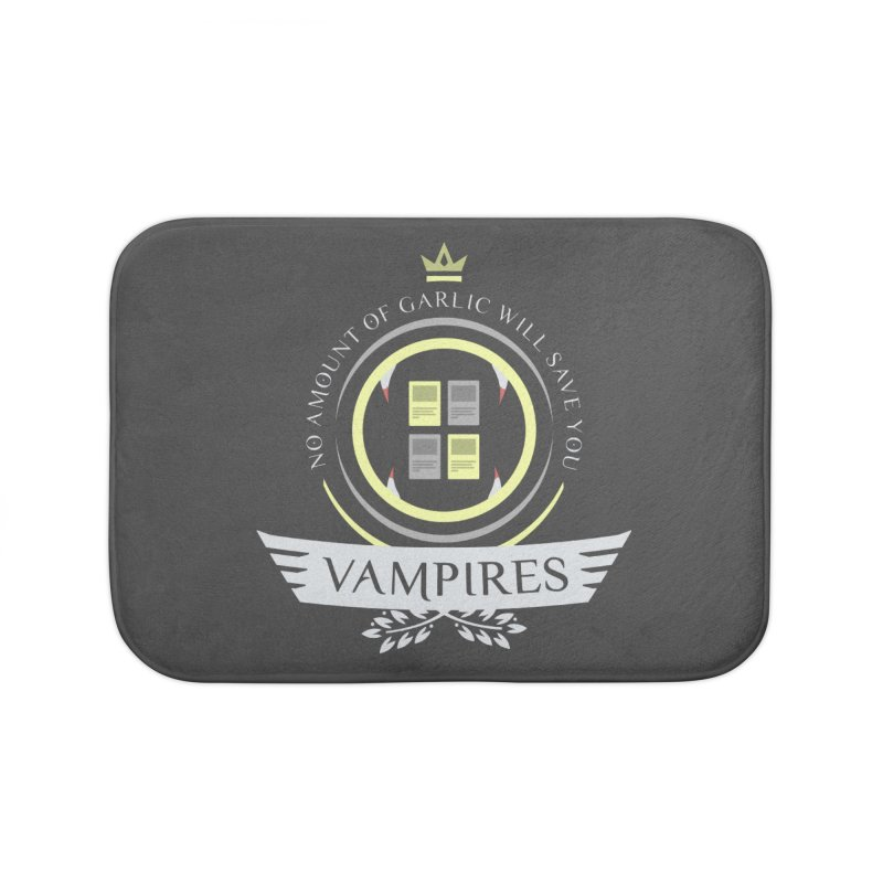 Vampires Life Home Bath Mat by Epic Upgrades