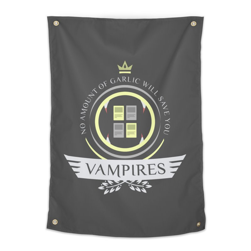 Vampires Life Home Tapestry by Epic Upgrades