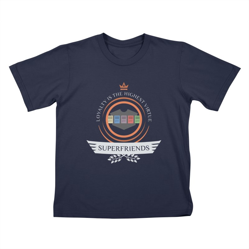Superfriends Life Kids T-Shirt by Epic Upgrades