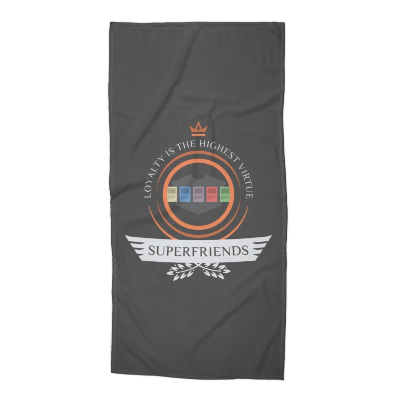 Superfriends Life Accessories Beach Towel by Epic Upgrades