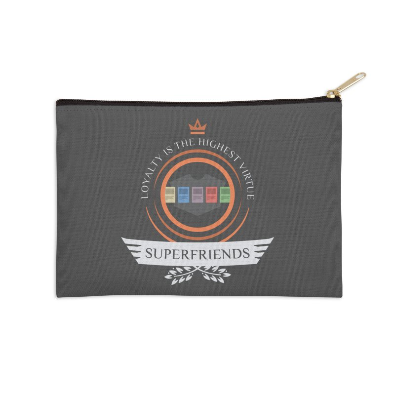 Superfriends Life Accessories Zip Pouch by Epic Upgrades