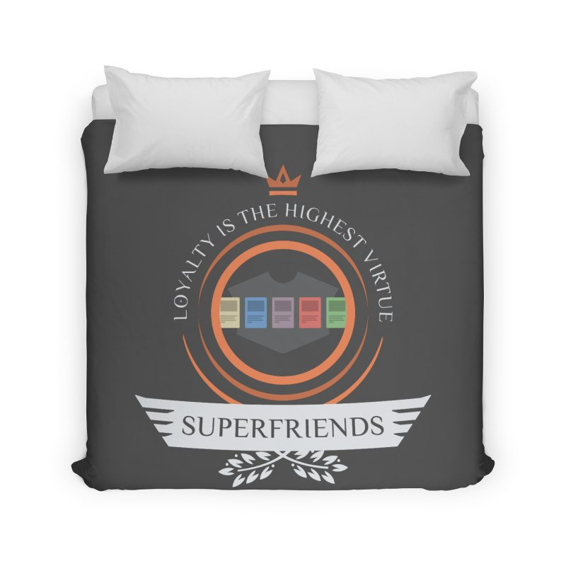 Superfriends Life Home Duvet by Epic Upgrades