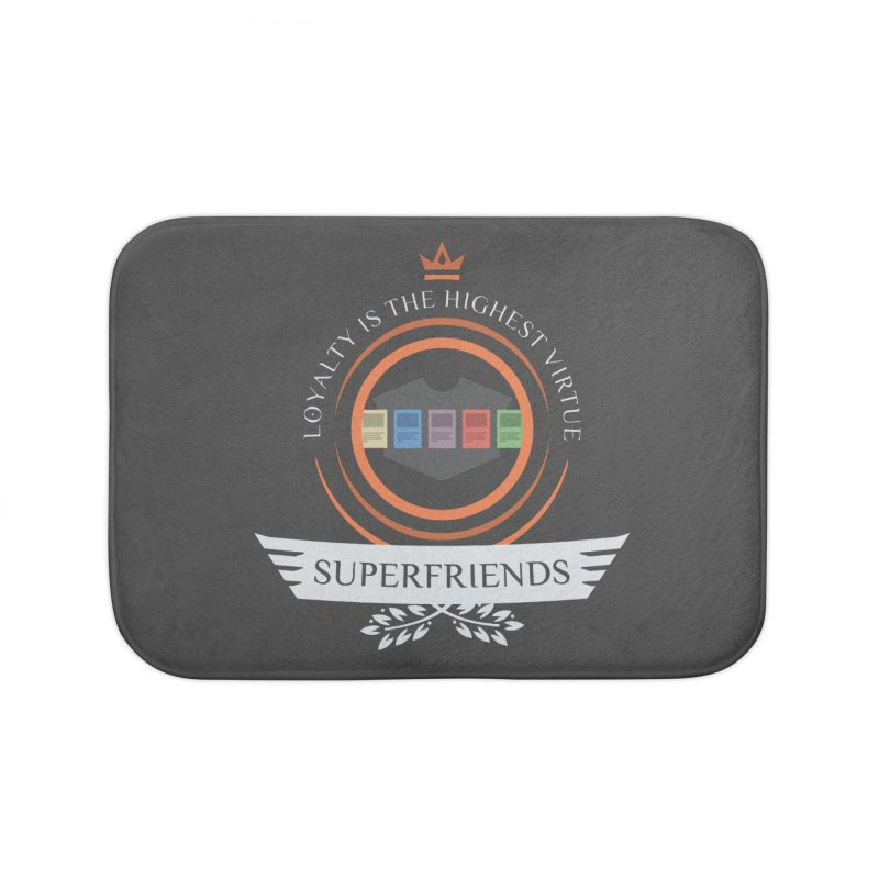 Superfriends Life Home Bath Mat by Epic Upgrades