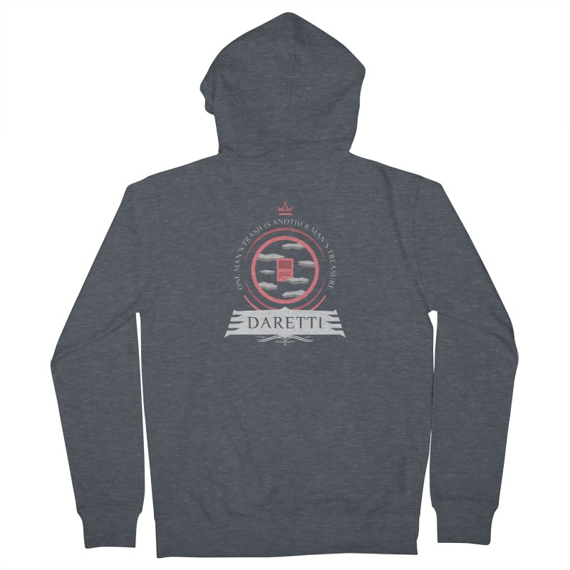Commander Daretti Men's French Terry Zip-Up Hoody by Epic Upgrades