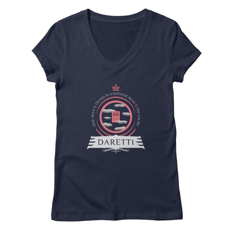 Commander Daretti Women's Regular V-Neck by Epic Upgrades