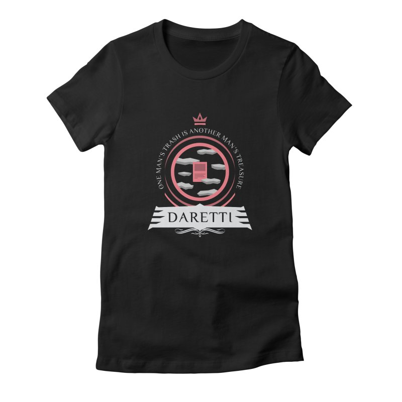 Commander Daretti Women's Fitted T-Shirt by Epic Upgrades