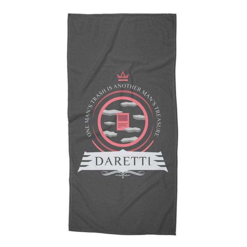 Commander Daretti Accessories Beach Towel by Epic Upgrades