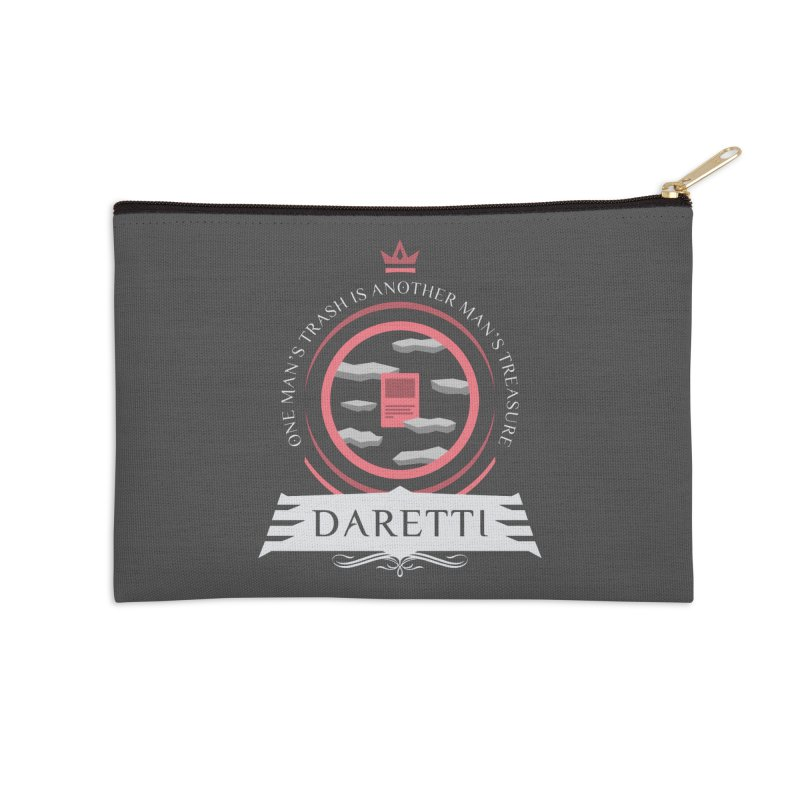Commander Daretti Accessories Zip Pouch by Epic Upgrades