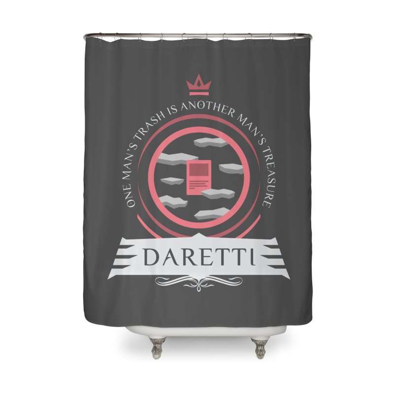 Commander Daretti Home Shower Curtain by Epic Upgrades