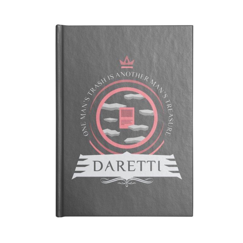Commander Daretti Accessories Notebook by Epic Upgrades