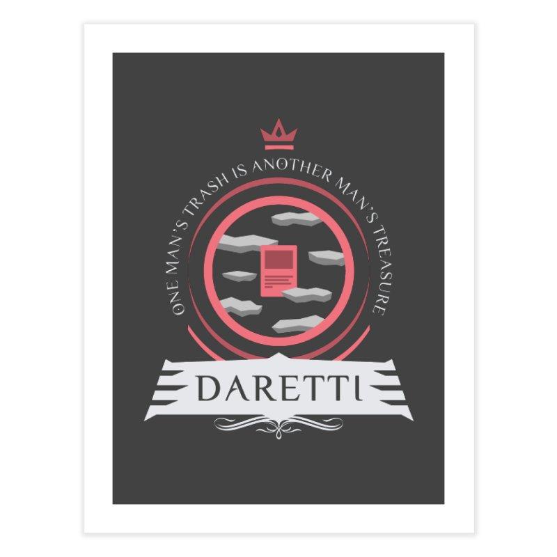 Commander Daretti Home Fine Art Print by Epic Upgrades