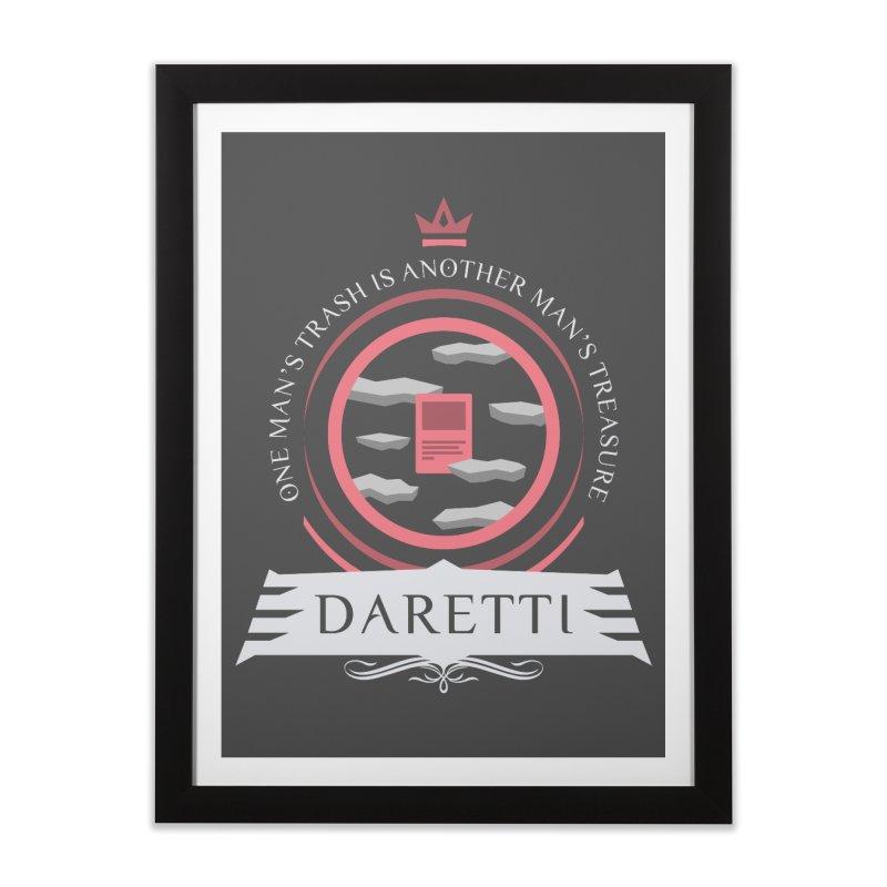 Commander Daretti Home Framed Fine Art Print by Epic Upgrades