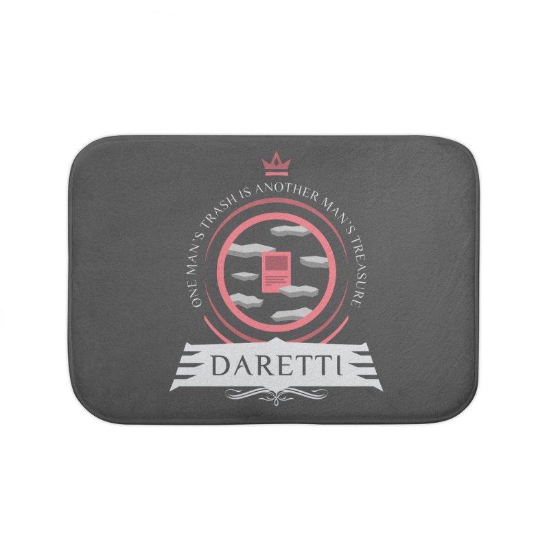 Commander Daretti Home Bath Mat by Epic Upgrades