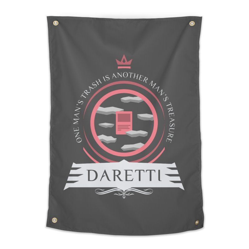 Commander Daretti Home Tapestry by Epic Upgrades