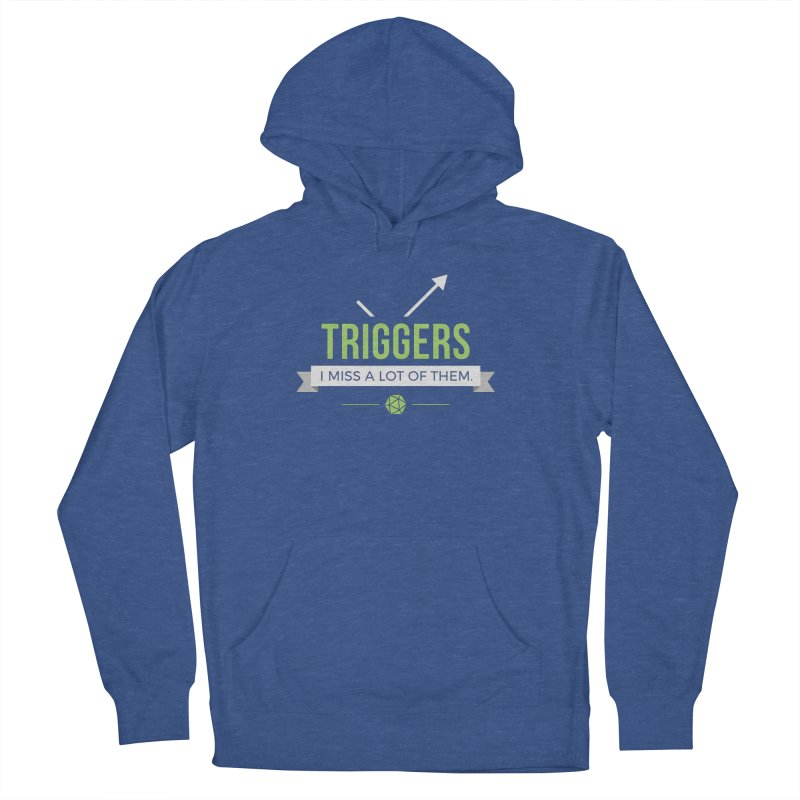 Triggers Men's Pullover Hoody by Epic Upgrades