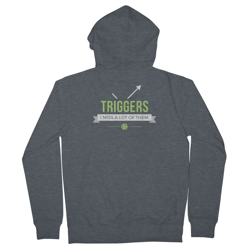 Triggers Men's French Terry Zip-Up Hoody by Epic Upgrades