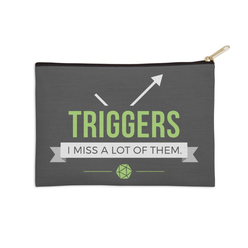 Triggers Accessories Zip Pouch by Epic Upgrades