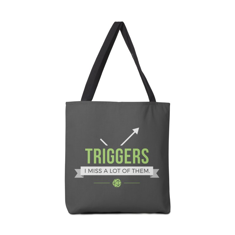 Triggers Accessories Tote Bag Bag by Epic Upgrades