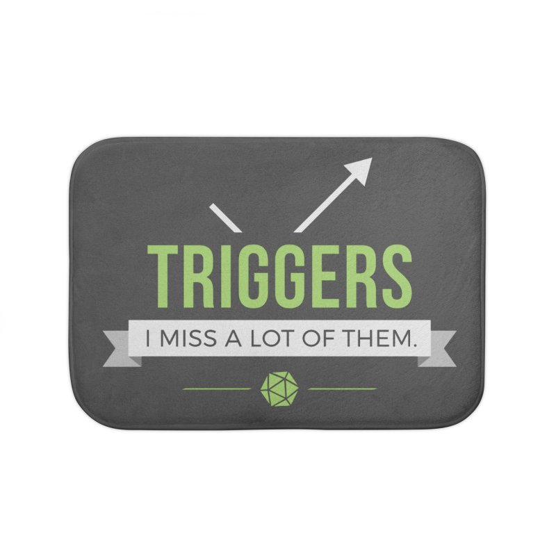 Triggers Home Bath Mat by Epic Upgrades